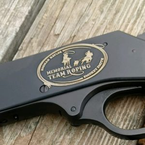 Henry 410 Parkerized Receiver (deep engraved)